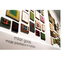 MILAN GOLOB: Exhibition / Installation 2006. Collaborative Art - My Friends and Natalija.