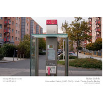 MILAN GOLOB - Project 2007: Telephone Poles Never Said Anything.